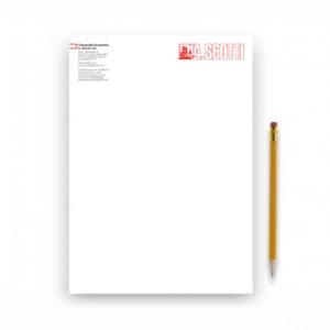 Fogli Di Carta Intestata Formato A4 – 4 Colori